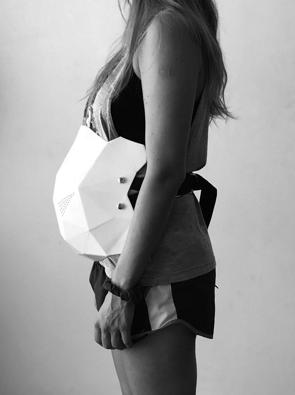 EPEGE. Dispositivo de protección fetal para mujeres de la construcción